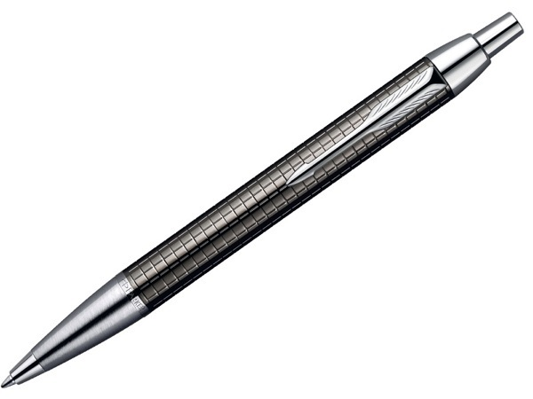 Ручка Parker шариковая IM Premium Dark Grey (Gun Metal) Chiselled