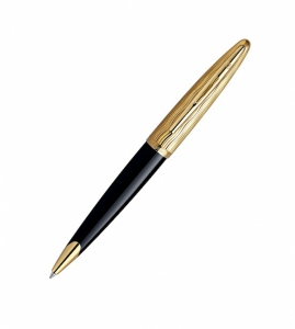 Ручка Waterman Carene Essential Black and Gold GT (BP) (M)