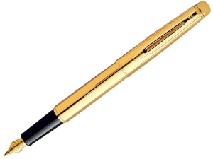 Ручка Waterman Hemisphere Golden Shine GT (FP) (M)